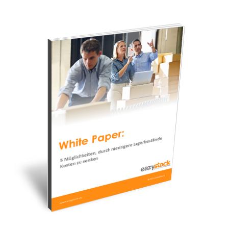 Whitepaper 5 Möglichkeiten durch niedrigere Lagerbestände Kosten zu senken