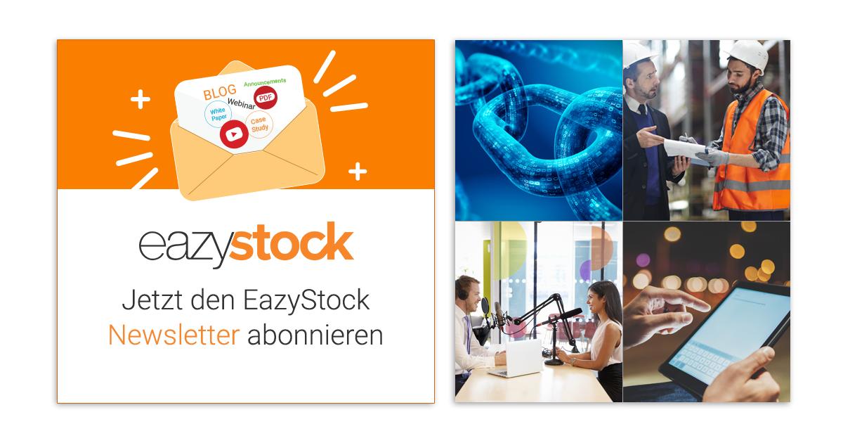 Jetzt den EazyStock Newsletter abonnieren