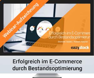 On-Demand Webinar Händlerbund: Erfolgreich im E-Commerce durch Bestandsoptimierung